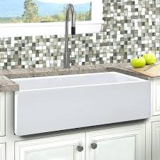 33 sink inch reversible farmhouse kitchen sink 33 fireclay undermount sink kitchen sinks 33 x 19
