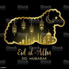 Eid Al Adha Vorlage Stock Vektor Art und mehr Bilder von Abstrakt - iStock