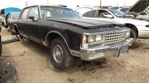 Junked 1982 Chevrolet Caprice Photo Gallery - Autoblog