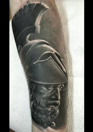Ares John Embry Broadwing Tattoo Bowling Green Oh искусство
