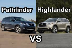 2015 Nissan Pathfinder Vs 2015 Toyota Highlander - DESIGN! - YouTube
