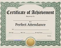 free perfect attendance certificate free perfect attendance certificates hrpta 18 19 attendance