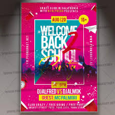 Event Flyers Free Back 2 School Event Flyer Psd Template