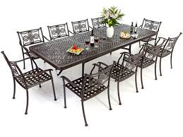 aluminium garden furniture metal