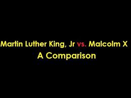 Mlk Vs Malcolm X Venn Diagram Martin Luther King Jr Vs Malcolm X A Comparison