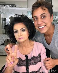 anar agakishiev is an azerbaijani make up artist with an incredible talent of making women look decades younger