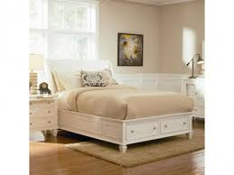 Coaster Sandy Beach White King Storage Bed Dallas TX Bedroom Bed