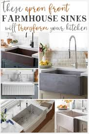 Apron Front Farmhouse Sinks That Will Transform Your Kitchen - The ...