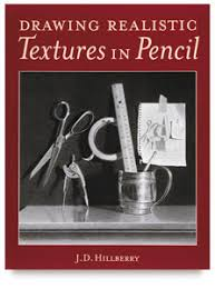 book review drawing realistic textures in pencil