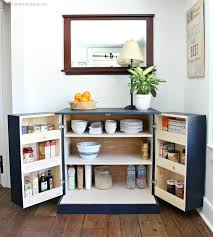 a diy tutorial to build a freestanding kitchen pantry cabinet with free plans make your kitchen functional with accessible storage and more counter space