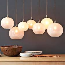 pendant lights mesmerizing round hanging chandelier white glass orb light uk awesome