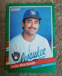 This release marked the first time donruss issued cards in multiple series and was notable for the introduction of its elite series insert. Julio Machado Milwaukee Brewers 1991 Donruss Baseball Card 764 Ebay