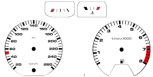 gauges indicators vdo gauge overlay template