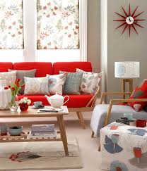 mesmerizing modern retro living room. Awesome And Beautiful Red Mid Century Modern Sofa Architecture Mesmerizing Retro Living Room