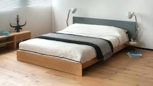 Queen Size Low Bed Frame King Low Bed Frame Low Profile King Bed ...