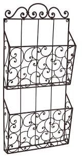 Wrought Iron Magazine Holder