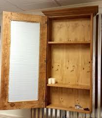 Rustic Wood Medicine Cabinet Reclaimed Wood Medicine Cabinet