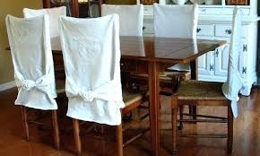 how to make furniture covers. Dining Room Chairs Covers Astonishing How To Make Chair Slipcovers Seat With Ties Furniture A