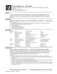 Human Resources Resume Examples Hr Cover Letter Entry Level