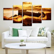 free shipping home decoration wall art painting of the great wall
