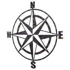 metal compass wall d cor on very large outdoor metal wall art with large outdoor metal wall art wayfair