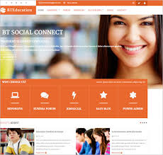 Templates For Education 27 Education Website Themes Templates Free Premium