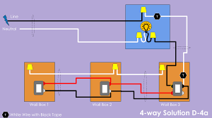 4 way wiring solution d diy smart Four Way Switch Wiring Diagram Ceiling Fan Wiring Diagram