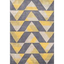 marvelous grey and gold area rugs modern amazing rug dynamic geometric design of repeating triangles gives this the illusion depth motion jaipur rugsgray