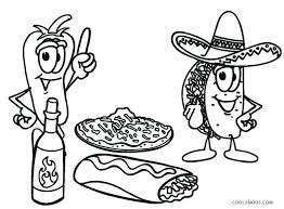 Free Printable Food Coloring Pages For Kids Food Coloring Pages Food