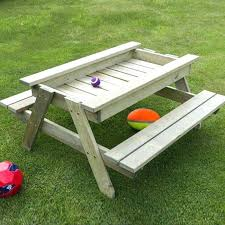 kidkraft outdoor table outdoor furniture outdoor table and bench set with cushions