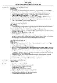 Call Representative Resume Samples Velvet Jobs