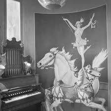 living room at 1712 circus art 1965