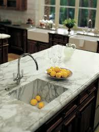 Marble Vs Granite Kitchen Countertops Cheap Versus Steep Kitchen Countertops Hgtv