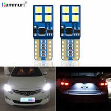 Hyundai Elantra License Plate Light Replacement 2xt10 W5w Led Error Free Eyebrow Eyelid Light Bulb For