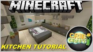 Kitchen For Minecraft How To Build A Kitchen In Minecraft Kitchen Interior Tutorial