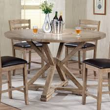 counter height drop leaf table winners only with lazy center 36 inch round