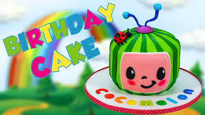 Cocomelon's 13th birthday + more nursery rhymes & kids songs. Cocomelon Birthday Cake Youtube