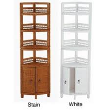 Wicker Corner Shelves Wicker Linen Cabinet Foter 33