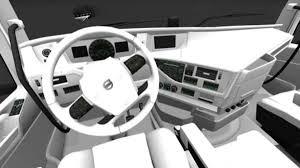volvo trucks interior 2013. volvo fh 2013 white interior u2013 euro truck simulator 2 mod trucks