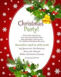 Christmas Party Invitation Wording Aplicativo Pro