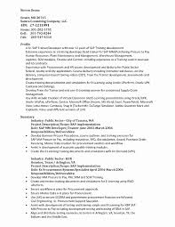 Lovely Sap Pp Consultant Resume Sample Gallery Entry Level Resume