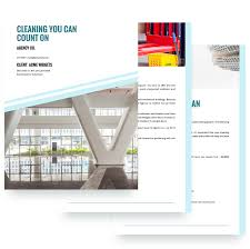 Cleaning Services Proposal Template - Free Sample