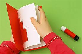 Christmas Card Craft Idea For Children  Early Years Resources BlogChristmas Card Craft Ideas