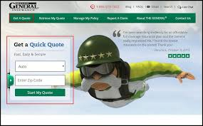 The General Auto Insurance Quotes
