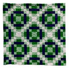 Green Quilts, Projects and Patterns: Your Lucky Day! & Pattern Double Irish Chain Green Quilt Adamdwight.com