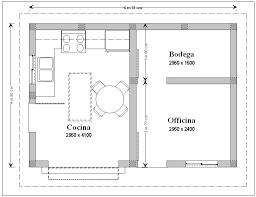 office room plan. The Office Room Plan O