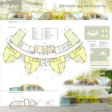 Институт архитектуры и дизайна Детский сад на 4 группы Курсовой проект