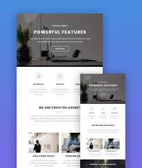 Great Newsletter Design Ideas 19 Best Mailchimp Responsive Email Templates For 2019