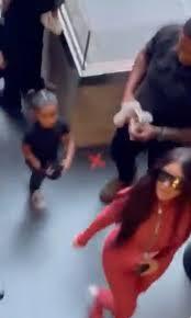 Kim Kardashian attends Kanye West's DONDA album event with their kids &  sister Khloe to support rapper despite divorce