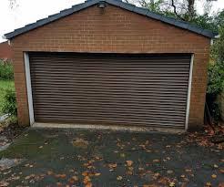 steel roller garage door rochdale